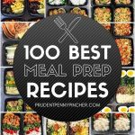 100 Best Meal Prep Recipes- Prepare your meals for the first time!