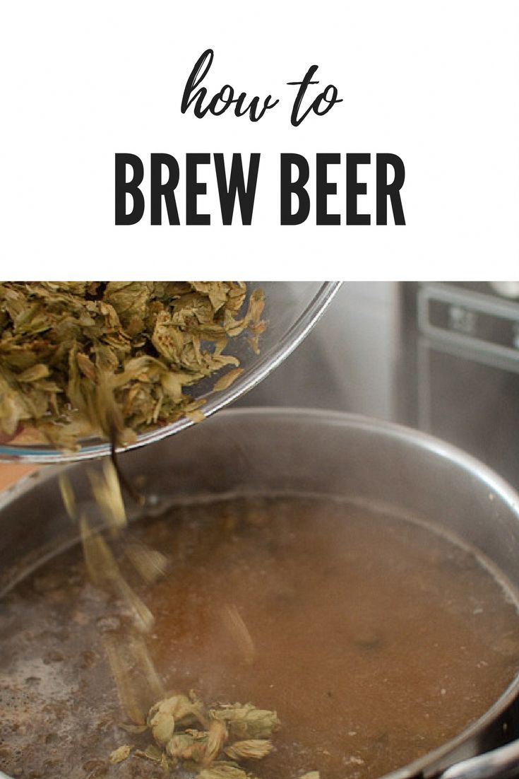 Complete guide to home brewing beer with little equipment and space. Plus a few …