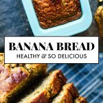 This healthy banana bread is naturally sweetened with maple syrup. With only a f...