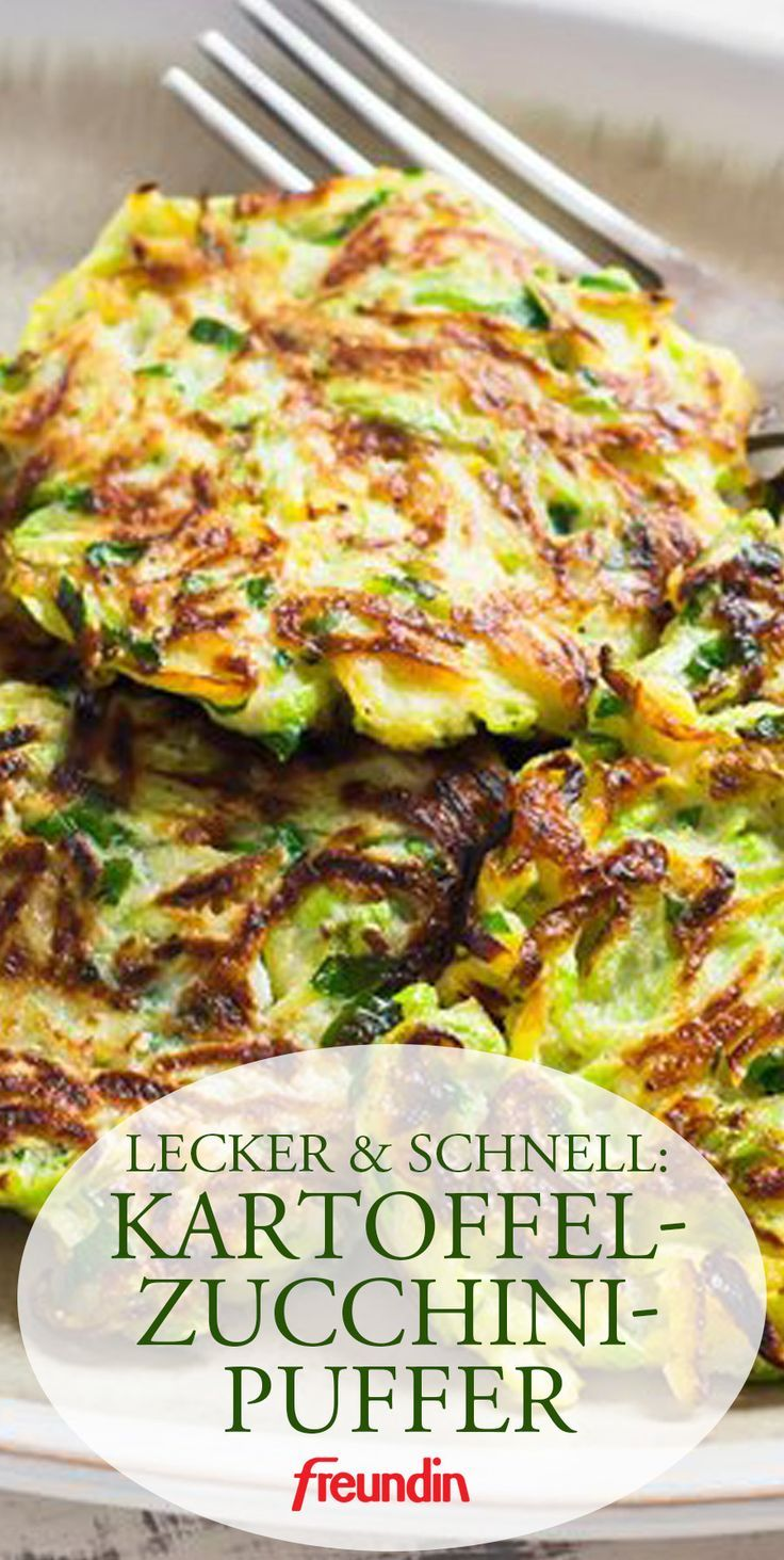 A light dish for lunch and dinner. Potato and zucchini buffer tastes good …