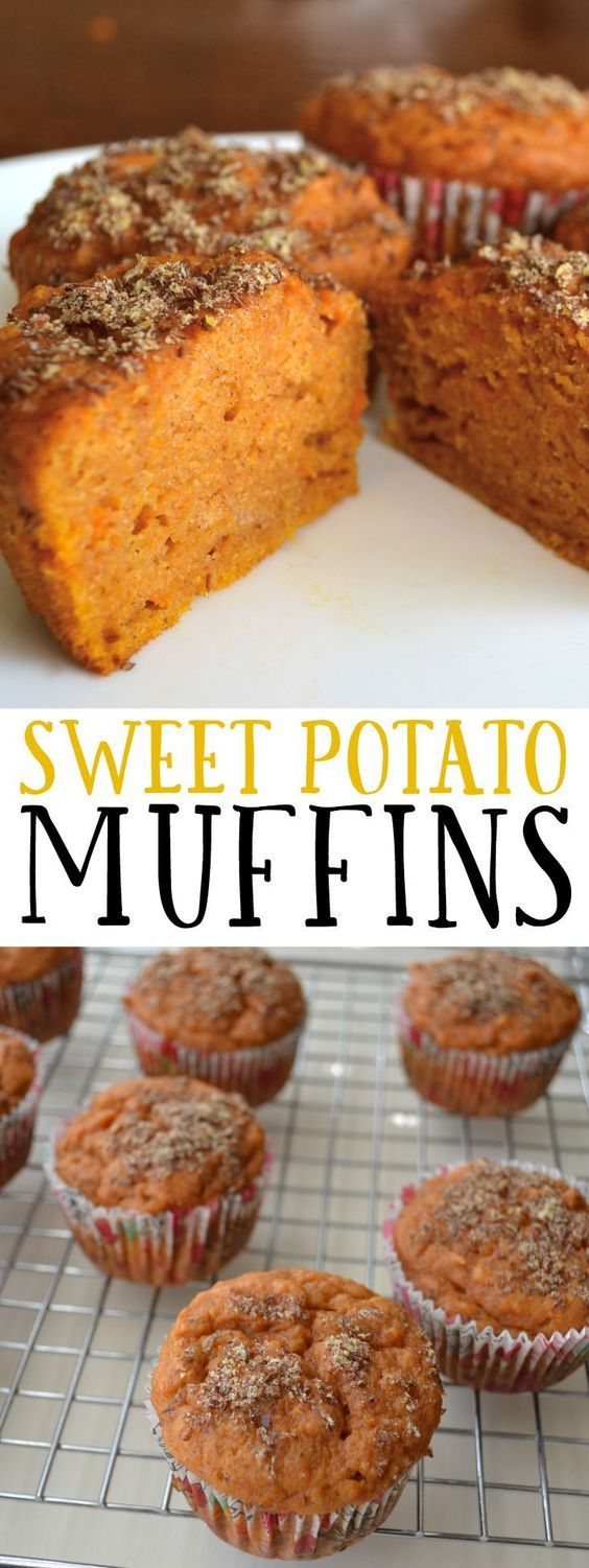 These muffins are super moist and packed with nutrients for a healthy, filling a…