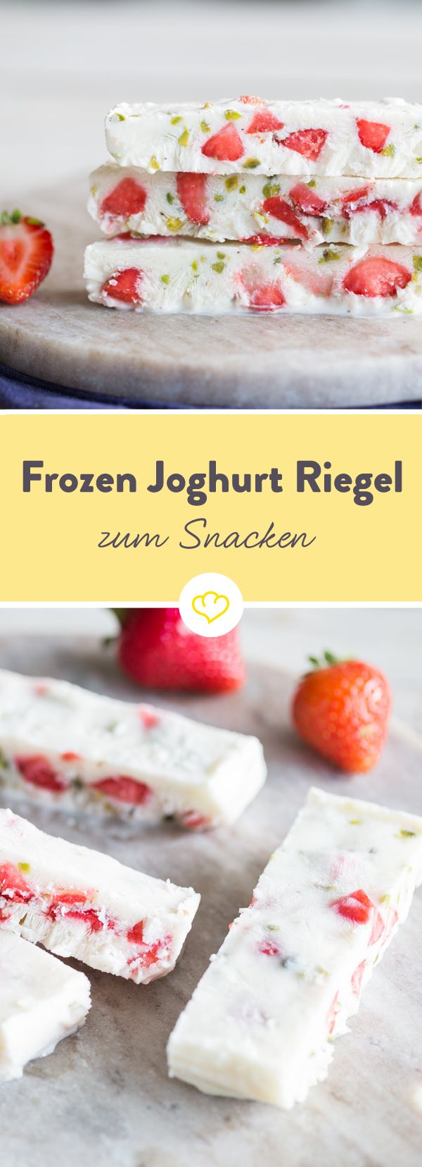 Nibble yogurt without spooning it? Sure, as a frozen bar with fresh …