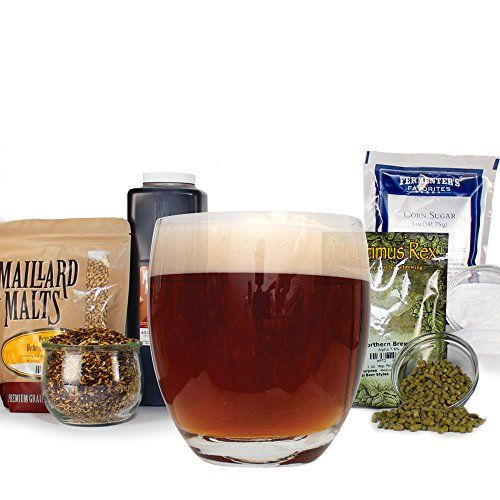 Scottish Wee Heavy Strong Ale Malt Extract Homebrew Beer Brewing Recipe Kit For Making 5 Gall…