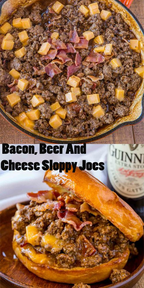 Bacon, Beer And Cheese Sloppy Joes – All About Health Food Recipes – All About H…