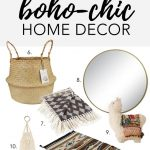 15 UNDER $50: BOHO-CHIC HOME DECOR - There's no escaping it - Boho-chic is so HO...