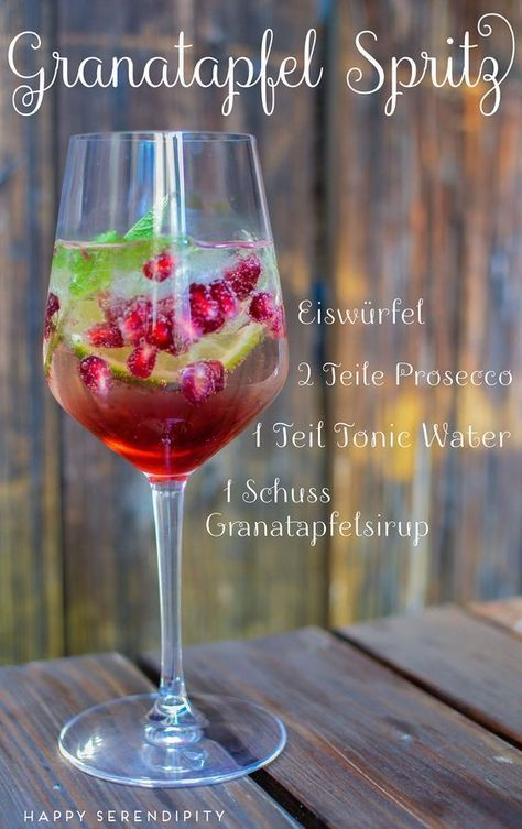pomegranate splash, summer drink, recipe for a delicious summer drink, from hap …