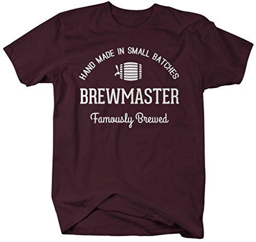 Let the world know that your brew is famously brewed in small batches in this br…