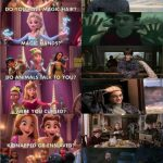 OMG Harry Potter is a princess!!! #PotterALWAYS