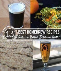 13 Best Homebrew Recipes | How to Make Beer at Home | Brewing and Distilling | D…