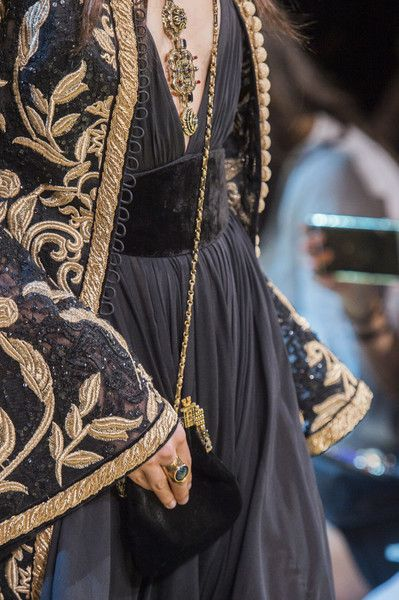 Elie Saab at Couture Fall 2017 – Details Runway Photos