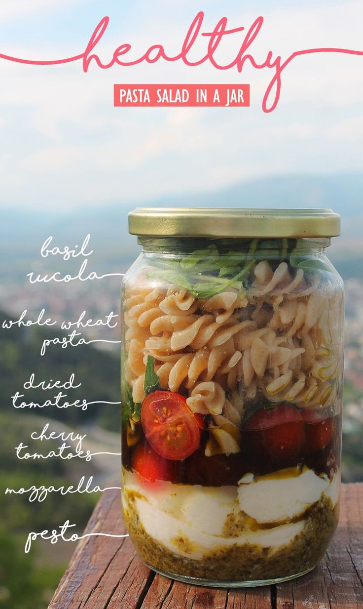 Healthy Meals In a Jar – Healthy Meals-To-Go and Recipes For A Last Minute Tak…