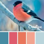 On the Creative Market Blog - 15 Downloadable Color Palettes For Winter #DIYHome...