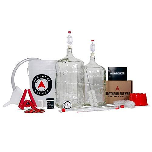 Northern Brewer Deluxe Home Brewing Equipment Starter Kit – Fresh Squished IPA Beer Recipe Ki…