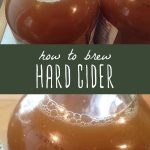 Learn how to brew your own easy and delicious hard cider with this simple recipe...
