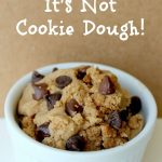 Healthy cookie dough: surprising star ingredient  and unbelievably delicious tas...
