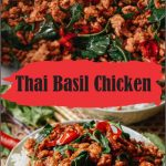 This Thai basil chicken recipe takes just 3 minutes to prepare and 7 minutes to ...