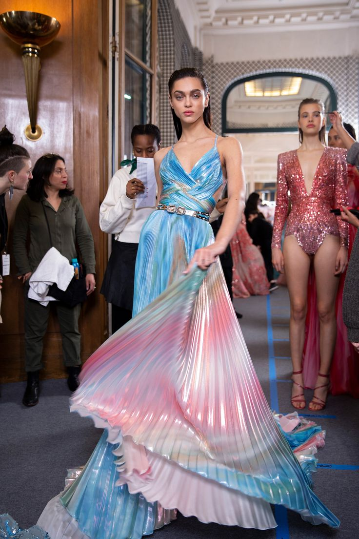 Zuhair Murad Couture Spring 2019 Fashion Show Backstage   The Impression