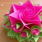 36+ Ideas origami rose step by step easy #origami