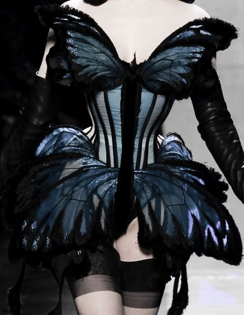 130186: Jean Paul Gaultier Haute Couture Spring 2014… Oh my good lawdy yes ple…