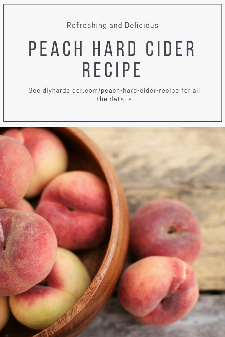 2 great peach cider recipes for a refreshing twist to a standard hard cider reci…