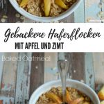 Vegan, Baked Oatmeal aka Baked Oatmeal with Apple and Cinnamon / #vegan #from ...