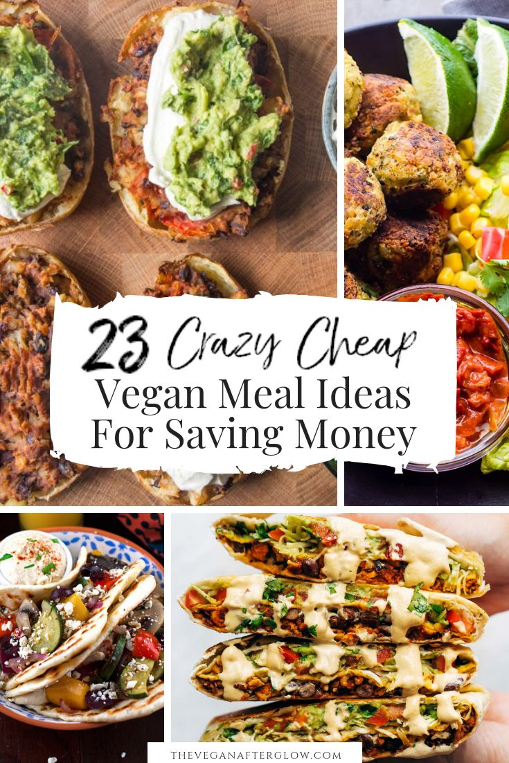 Are you looking some cheap vegan meal inspiration? Here are 23 crazy cheap vegan…