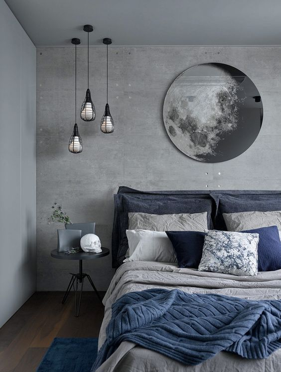 Blues in the Bedroom: 25 Stylish Ideas #Beds #Blues # Ideas # Stilish # Bedroom …