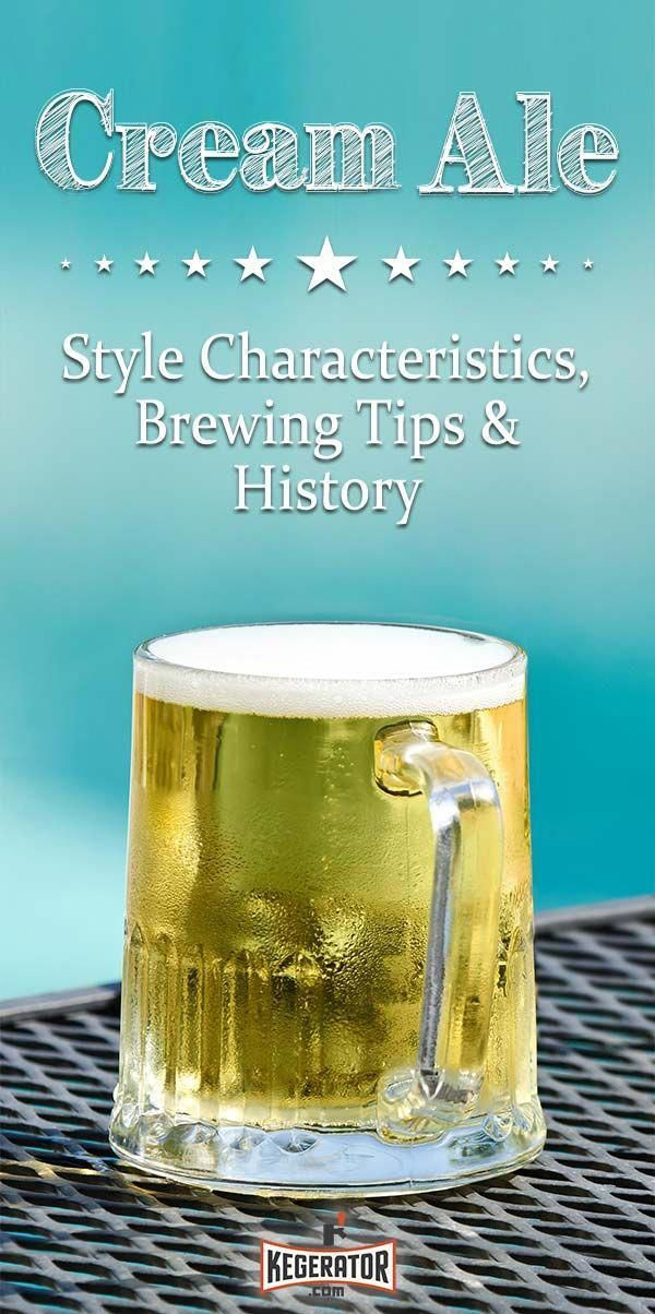 Cream Ale Style Profile: Characteristics, Brewing Tips & History #IngredientsFou…