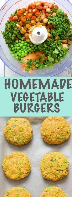 Crispy on the outside and cooked to perfection. These veggie burgers are the ult…