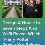 """Design A House In Seven Steps And We'll Reveal Which """"Harry Potter"""" Family Y..."""