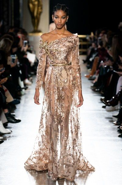 Elie Saab Spring / Summer 2019 Haute Couture – the collection with all runway …