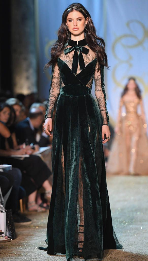 Elie Saab from Best Looks From Haute Couture Paris Fashion Week F/W '17
