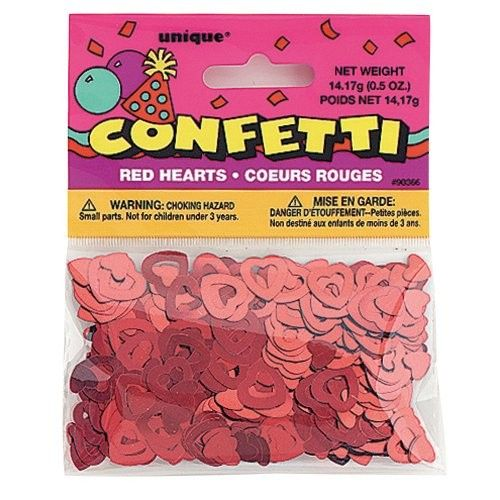Foil Open Red Heart Confetti – CF1128MLIP1 – Event & Party Supplies, Shop By Col…