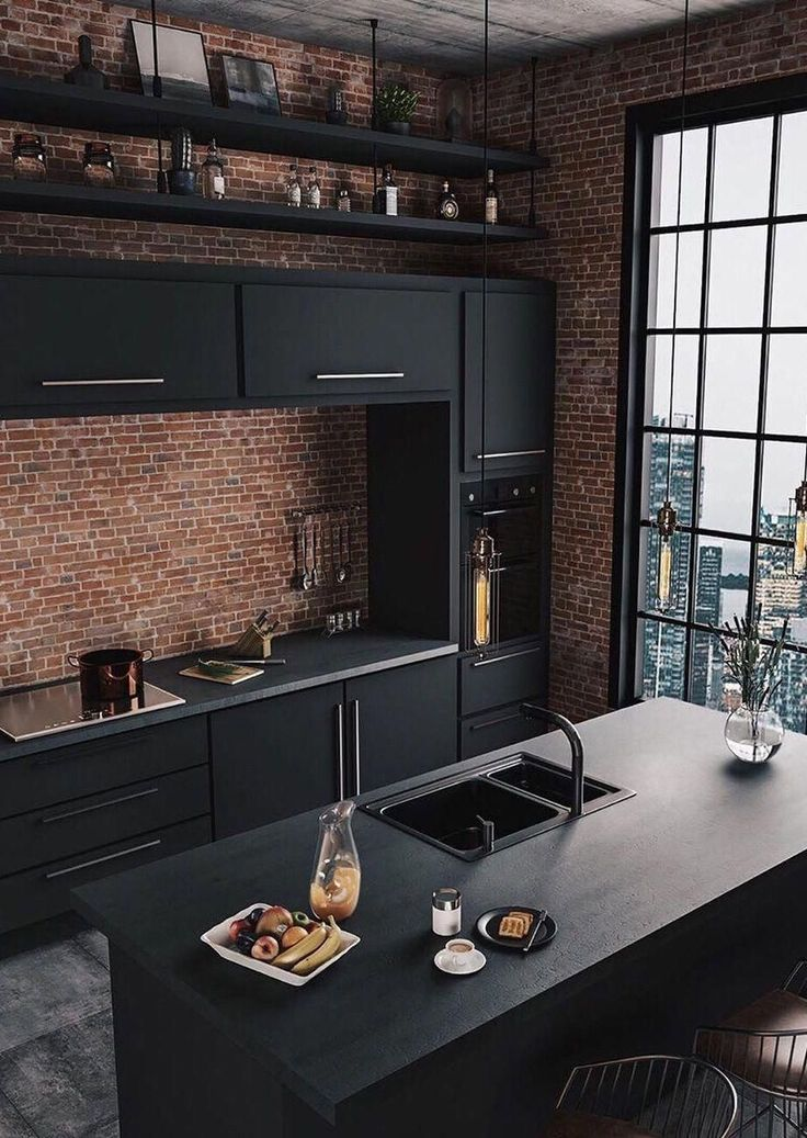Get the best ideas for industrial home decor! | www.delightfull ….