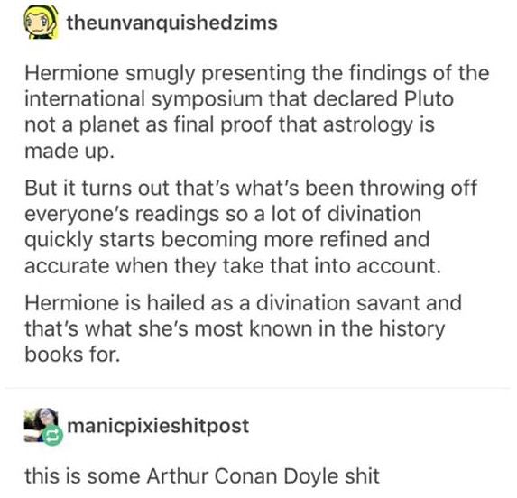 HP Hermione Astronomy Divination