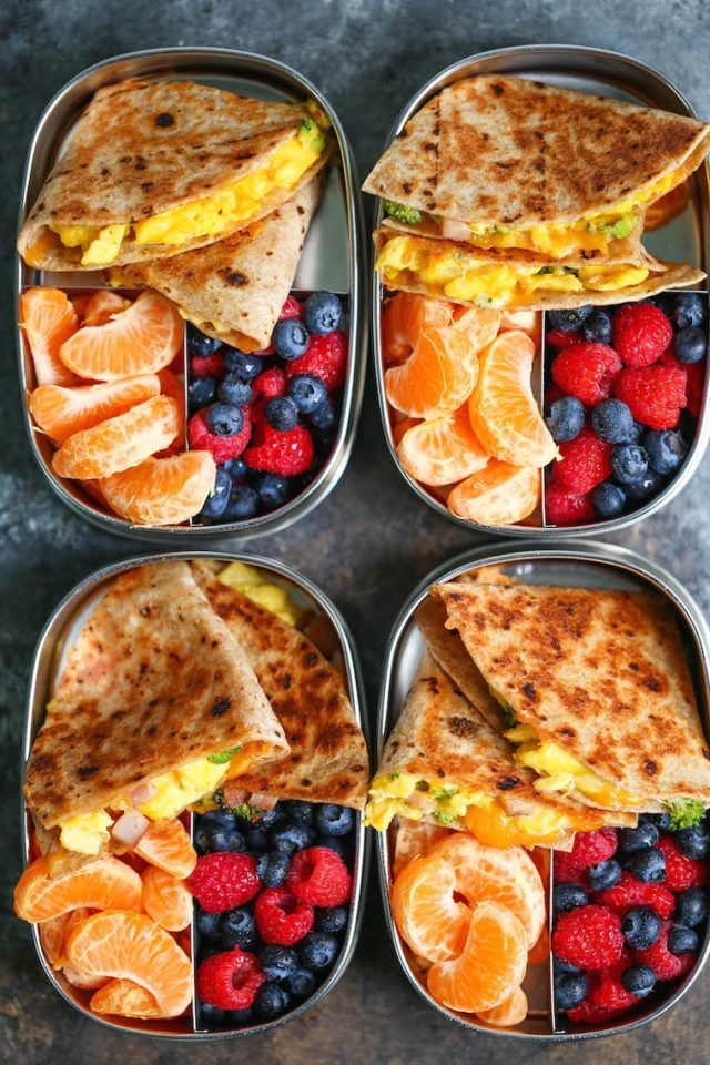 Ham, Egg and Cheese Breakfast Quesadillas – Prepare Meal for You …