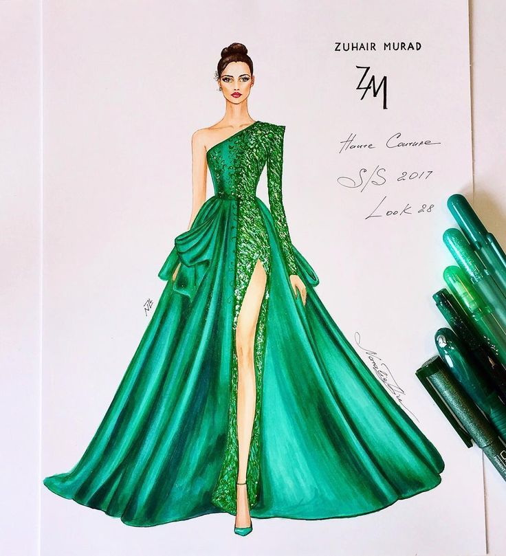 Magnificent couture gown of the Zuhair Murad Spring Summer 2017 haute couture co…