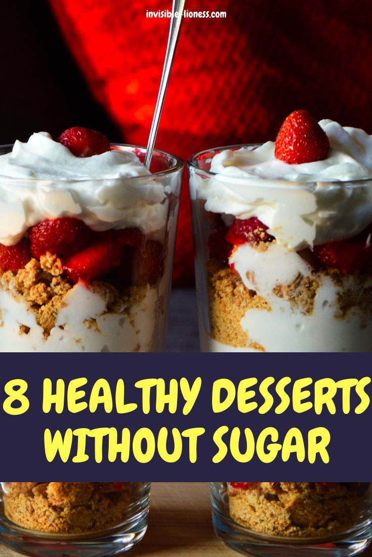 Need some healthy desserts that are easy and contain no sugar? These recipes are…