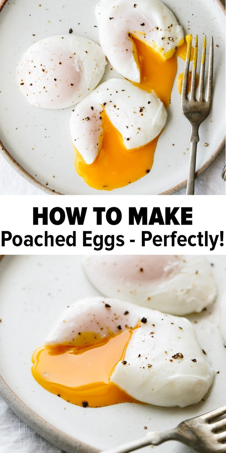 Poached eggs are the perfect healthy breakfast recipe. And guess what – it's eas…