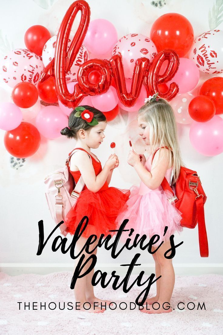 The perfect Valentine's Day party for kids! Decor inspiration, treats, and Valen…