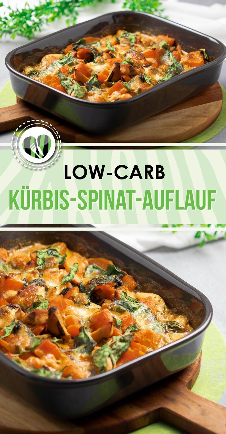 The pumpkin and spinach casserole is delicious low carb and gluten free and perfect in the …