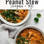 This West African peanut stew is a healthy recipe that is vegan and gluten-free!...