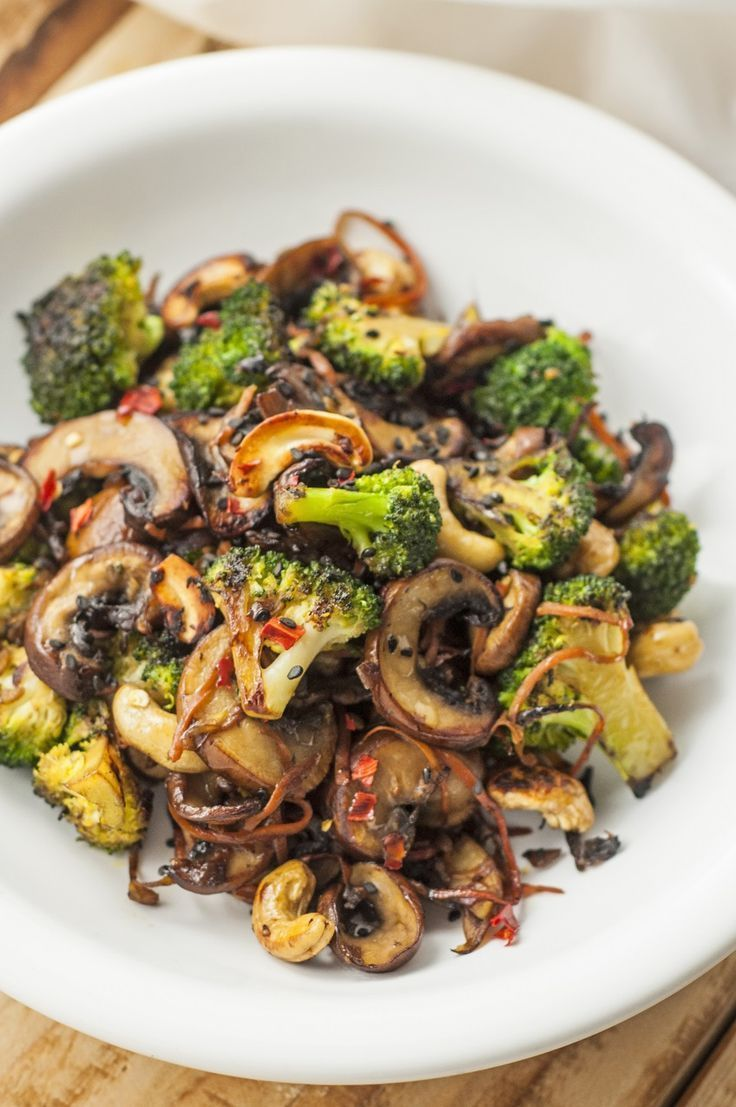 This broccoli and mushroom stir-fry recipe makes a quick, easy, and healthy meal…