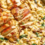 Tuscan ChickenMac and Cheese (ONE POT, OVEN TOP) #Dinner #Dinner Dinner ...