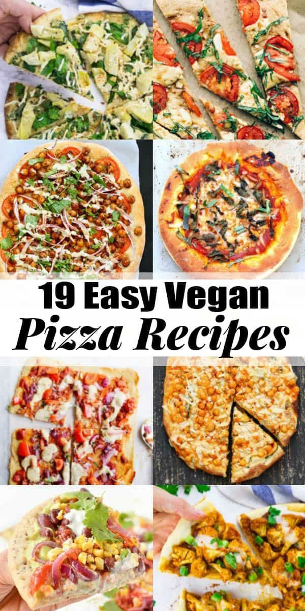 Vegans definitely don't have to miss out on pizza! These 19 vegan pizza recipes …