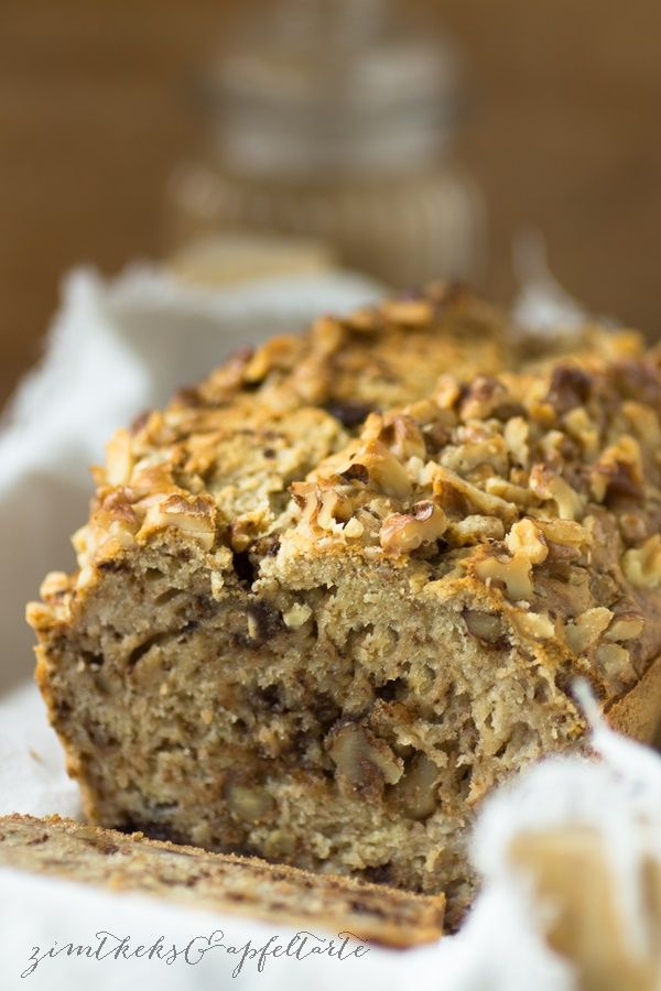 Very tasty and healthy banana bread with walnuts and chocolate – cinnamon biscuit …