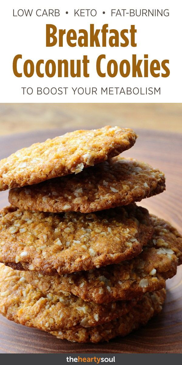 We never thought we would see these keto coconut cookies on a Fat Burning Foods …