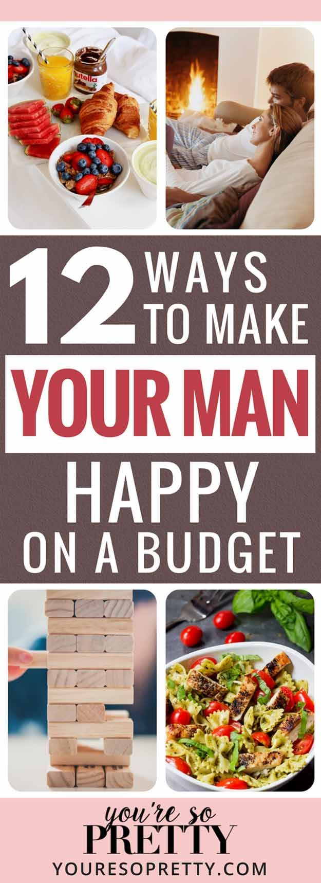12 Ways to Make Your Man Happy Without Spending This Valentine's Day