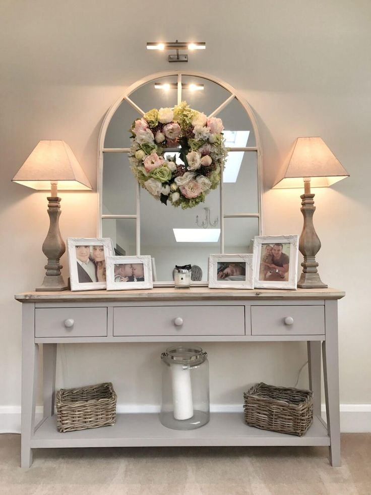 12 chic console table as a decorative decoration to decorate # decorate #konsolentis …