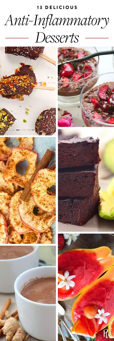 13 Easy and Delicious Anti-Inflammatory Desserts #purewow #health #healthy #dess…